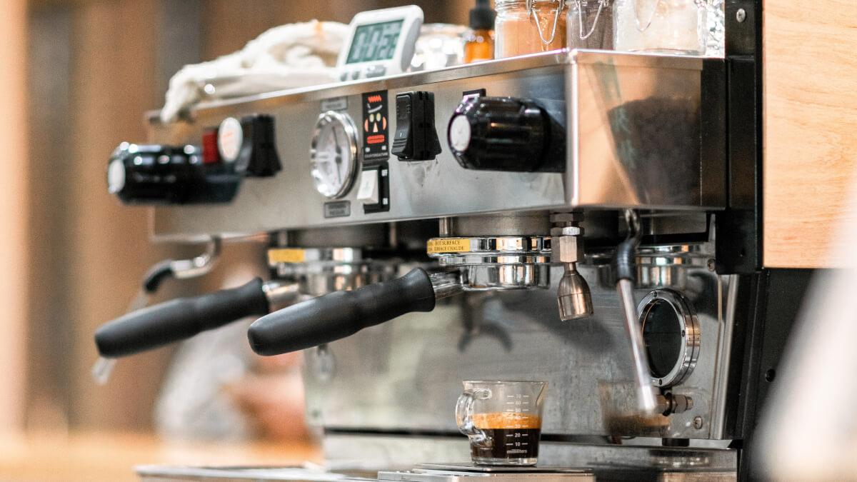 Kalka av kaffebryggaren